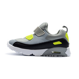 Orthopedic Shoes UK - hot Kids Sneakers Presto 90 II Children Sports Orthopedic Youth Kids trainers Infant Girls Boys Outdoor shoes 10 Colors Size 28-35