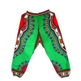traditional african prints designs Australia - African Dashiki Print Trouser Design women Pants Traditional African Clothing Print Dashiki Fabirc Pants For Women And Men