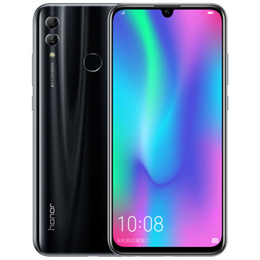 cell phone full screen 2020 - Original Huawei Honor 10 Lite 4G LTE Cell Phone 6GB RAM 64GB ROM Kirin 710 Octa Core 6.21 inch Full Screen 24MP Fingerpr