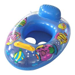 Babies Inflatable Ring Australia - Inflatable children's water swim ring kids baby swimming ring seat beach baby pool float boat variety of styles mixed send wholesale