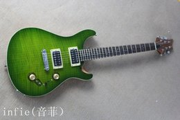 Discount mahogany body electric guitars - 2019 Hot Custom Guitar Shop Rosewood Green 6 Strings Electric Guitar free shipping Wholesale