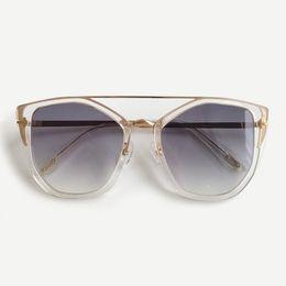 $enCountryForm.capitalKeyWord NZ - 2019 Cat Eye Sunglasses Women Vintage Transparent Frame Sun Glasses Sunglasses Shades Female UV400 Eyeglasses