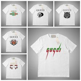 Luxury Mens Designer T Shirt Men Women Mask Summer T Shirt Hip Hop White Pink Grey Short Sleeve Polo S-2XL on Sale