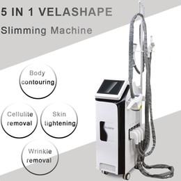 Machine System Slimming Vacuum Australia - velashape cellulite Body Shaping machine cavitation rf vacuum roller velashape slimming machine Body Shaping System home use