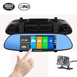 $enCountryForm.capitalKeyWord Australia - New High Quality HD 1080P 7'' Car DVR Video Recorder G-sensor Dash Cam Rearview Mirror Camera DVR Free Shipping
