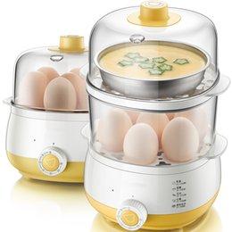 $enCountryForm.capitalKeyWord Australia - DMWD 2 Layers Large Capacity Electric Egg Cooker Boiler Home Breakfast Machine Food Heating Steamer Nursing Bottle Disinfection