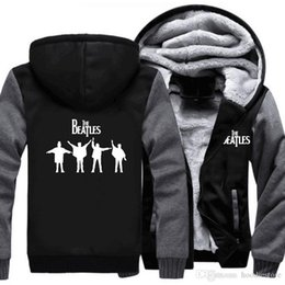 $enCountryForm.capitalKeyWord Australia - US EU Size The Beatles Hoodie Music Rock And Roll Hoodie Hip Hop Jacket Thicken Fleece Cotton hoodie Winter Zipper Coat Sweatshirt