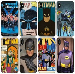 batman metal case UK - [TongTrade] Vintage Batman Case For iPhone X XR XS 11 Pro Max 8s 7s 6s 5s Plus Galaxy Note 10 Pro Huawei Mate 20 Honor Play 3 Wholesale Case