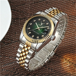 Secret Glasses Australia - Luxury able Gold Watch Men Rotatable Bezel Sapphire Glass Stainless Steel Band Women Quartz Wristwatches Can Swimming Y19052103