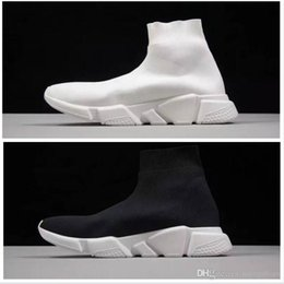 best canvas shoes for women 2019 - Best Level Luxury Sock Shoes Casual Shoe Speed Trainer High Quality Sneakers Speed Trainer Sock Race Runners black Shoes