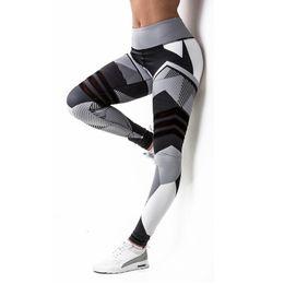 $enCountryForm.capitalKeyWord Australia - Sexy Fitness Yoga Sport Pants Push Up Women Gym Running Leggings jegging Tights High Waist print Pants Joggers Trousers