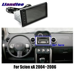 "antenna tv cars NZ - Car Android Vehicle GPS 7"" For Scion xA 2004-2006 Radio Player GPS NAVI Maps HD Touch Screen TV Multimedia No CD DVD"