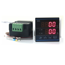 $enCountryForm.capitalKeyWord NZ - Freeshipping New (48*48mm) Digital Temperature Humidity Controller Thermostat Humidity Control TDK0348LA with 3m wire Free shipping