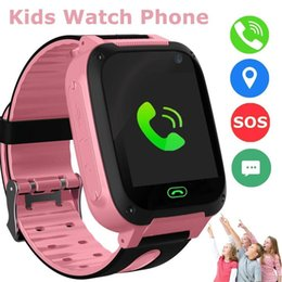 $enCountryForm.capitalKeyWord Australia - Kids Smart Watches Phone GPS Tracker for Girl Boy Sport Wrist Watch SOS Game Camera Anti-Lost Smartwatch Outdoor