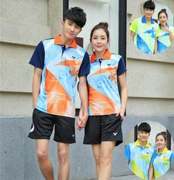 Sportswear T Shirt Badminton Australia - K6 Victor Badminton Suit Sportswear for Men & Women Short Sleeve T-shirt Leisure Running Basketball casual wear Table tennis V5046