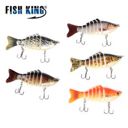 $enCountryForm.capitalKeyWord NZ - Fishing Lures FISH KING Sinking Wobblers 7 Segments Fishing Lures Minnow 10cm 15.5g Swim Bait Jointed Bait For Bass Isca Lifelike Crankbait