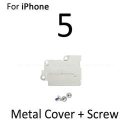 lcd touch screen flex cable UK - 50psc Cover Plate Holder Screw For iPhone 5 5S SE 5C Battery Lcd Touch Screen Flex Cable Metal Holder Bracket