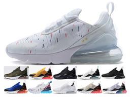 sneakers for cheap 93b55 9c833 2018 Nike air max airmax 270 champion Blanc Hologramme Iridescent  Superstars Junior 80 s Chaussures de Fierté Super Star Femmes Hommes Sport  Chaussures de ...