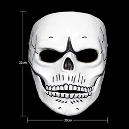 $enCountryForm.capitalKeyWord Australia - Movie 007 JAMES BOND Spectre Resin Mask Skull Skeleton Scary Halloween Carnival Cosplay Costume Masquerade Ghost Party Mask Prop