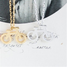 $enCountryForm.capitalKeyWord Australia - Fashion small bike model pattern necklace necklaces for women design chain of clavicle