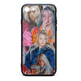 Proof Cases UK - IPhone 8 Case iPhone 7 Case Billie Eilish cool skid-proof TPU Soft Rubber Silicone Cover Phone Case