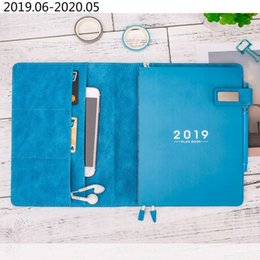stationery planners notebooks NZ - A5 Daily Weekly Planner Organizer Refillable Personal Diary Notebook School Office Agenda 2019 2020 Schedule Notepad Stationery T8190615