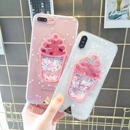 $enCountryForm.capitalKeyWord Australia - For xiaomi mi A1 A2 lite mi 8 lite redmi Note 5 6 7 Pro Fashion Creative Ice Cream Glitter Quicksand transparent phone case Capa