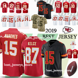 dd6dfdafdac Kansas City jerseys Chief 15 Patrick Mahomes 10 Tyreek Hill 87 Travis Kelce 14  Sammy Watkins 50 Justin Houston new jersey 2019