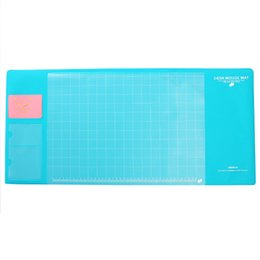 Stationery Australia - Office Supplies Mouse Pad Waterproof Stationery Holder Writing Accessories Soft PVC Organizer Large Desktop Pad 4 Colors