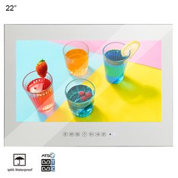 $enCountryForm.capitalKeyWord UK - Soulaca 22inch Vanishing Mirror Bathroom Waterproof Sauna Room HD Television Mounting A Flat Screen Factory Manufacturer