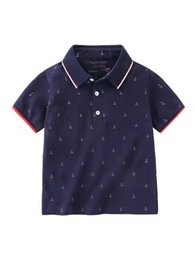 Babies Polo Australia - Boys POLO Shirt Short Sleeve T-shirt 2019 Summer Clothes Children's Clothing Children's Baby Half Sleeve Children's Coat Summer