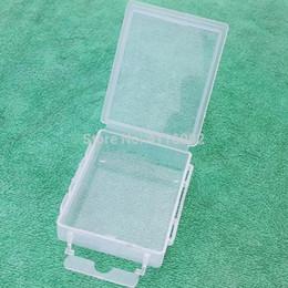 Bait Boxes Wholesale NZ - 500pcs 6*4.5*1.5cm Transparent Plastic Box Bait Holder Fish Hook Storage Box Hardware Electronic Components Case