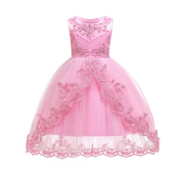 Boat cap online shopping - Children s Dress Trailing Red Princess Dress Explosion Children s Wear Stage Performance Clothing The New Western Style