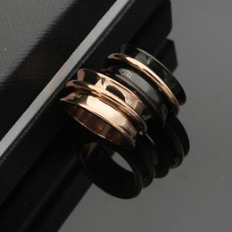 18k Gold Jewelry For Men Australia - New stainless steel jewelry T letter wide version of the trumpet for men and women on the ring 18K gold ring jewelry party gift