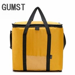 $enCountryForm.capitalKeyWord Australia - 42L Cooler Bag Car ice pack picnic Large cooler bags Yellow Cool Thermo Bag ThermaBag refrigerator thermo thermal bolus thermal