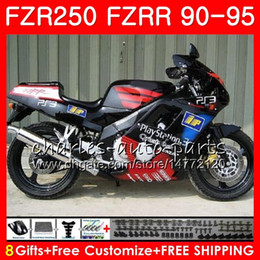 $enCountryForm.capitalKeyWord Australia - Kit For YAMAHA FZRR FZR 250 R 250R factory black hot FZR250 90 91 92 93 94 95 124HM.57 FZR-250 FZR250R 1990 1991 1992 1993 1994 1995 Fairing