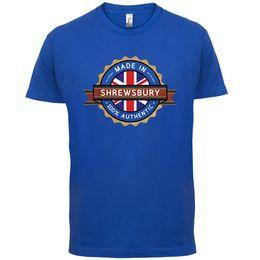$enCountryForm.capitalKeyWord Australia - Made In SHREWSBURY Mens T-Shirt - Town   City - 13 Colours Funny free shipping Unisex Casual
