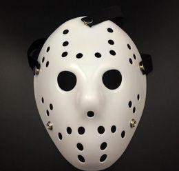 $enCountryForm.capitalKeyWord Australia - WHite Porous Men Mask Jason Voorhees Freddy Horror Movie Hockey Scary Masks For Party Women Masquerade Costumes