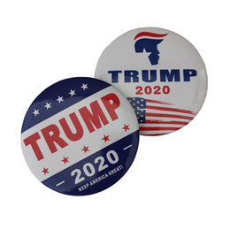 Wholesale anchor lapel pins online shopping - New Trump Brooch Pins Make America Great Again Donald for President USA Dome Lapel Pin Button Badges Jewelry in Bulk