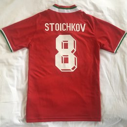 shirt futbol 2019 - 1994 Bulgaria RETRO CLASSIC STOICHKOV 8 Balakov maillot de foot Thailand Quality soccer jerseys uniforms Football shirt