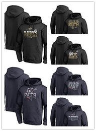 Men s sweater Saints Patriots Branded 2018 NFC South East Division  Champions Fair Catch Playoffs Bound Coin Toss Hometown Pullover Hoodie d2b88d1dd