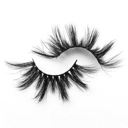Length False Eyelashes Australia - T02 25mm False Eyelashes Thick Strip 25mm 3D Mink Lashes Extra Length Mink Eyelashes Makeup Dramatic Long Mink Lashes