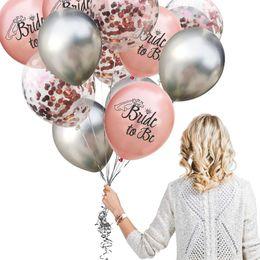 $enCountryForm.capitalKeyWord Australia - AMAWILL Rose Gold Silver Bachelorette Party Decoration Bridal Shower Supplies Bride To Be Veil Balloon Wedding Decor Supplies