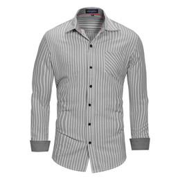 $enCountryForm.capitalKeyWord Australia - Fashion Designer T-Shirts for Mens Sweatshirts Spring Striped Mens Tee Shirt Long Sleeve Casual Men Tops Clothing 2 Colors M-3XL Wholesale