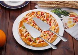 $enCountryForm.capitalKeyWord Australia - NEW Cake Pizza Cheese Shovel Knife Stainless Steel 2020 Baking Cooking Tools or Ice Cream Server Western Knife Turner Divider 200PC wn598