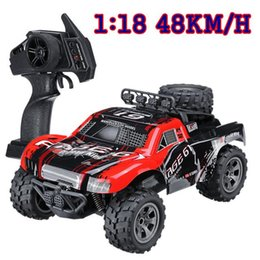 Buggy Toys Australia - RC Buggy 1:18 18km h 2.4G Remote Control RC Truck High Speed 260 Strong Power Motor RC Car Off-Road Vehicle Toy for Kids 1885 - A VB