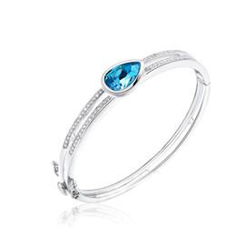 Steel Ceramic Diamond Ring UK - Wedding Party beaded pearl gift woman lady diamond jewelry Bracelet for bride acting initiation graduation CDE-1472