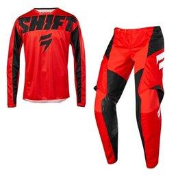 $enCountryForm.capitalKeyWord NZ - 2019 Shift MX WHIT3 York Jersey Pant Gear Combo - Dirt Bike Off-Road MX ADULT J