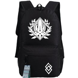 7bc9fc3028 Saber backpack New arrive day pack Fate stay night school bag Game packsack  Print rucksack Sport schoolbag Outdoor daypack