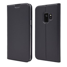 Note Flip Wallet Australia - PU Leather Wallet Case Flip Cover For Samsung Galaxy S10 S10+ S10e S9 Plus S8 S7 Edge Note 9 8 With Retail Package